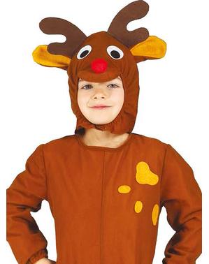 Costum de ren de Crăciun pentru băiat