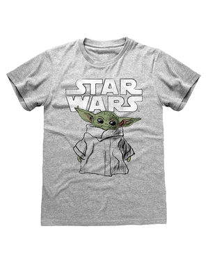 Baby Yoda T-Shirt für Herren - The Mandalorian Star Wars