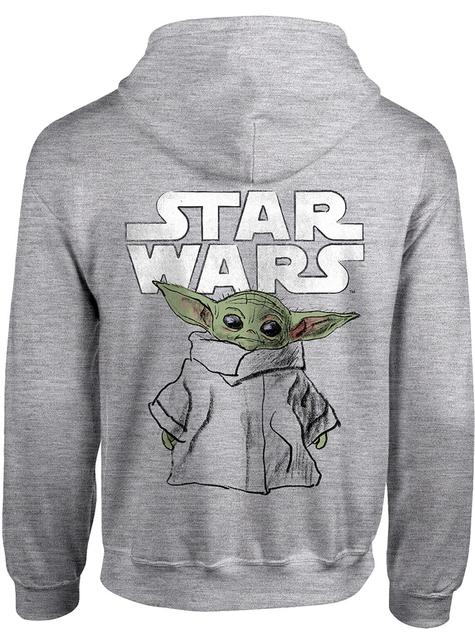 Baby Yoda Sweatshirt für Herren - The Mandalorian Star Wars