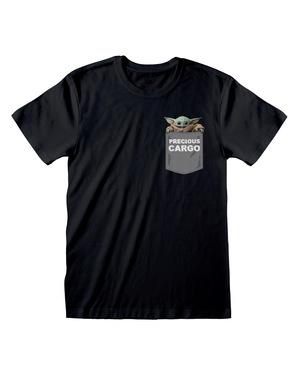 """Мъжка тениска с бебе Йода """"Precious cargo"""" от """"Мандалорианецът""""– """"Междузвездни войни"""""""