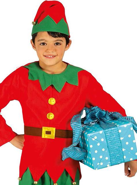 Fato de elfo elegante para menino