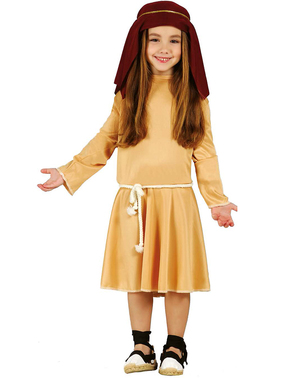 Hebräische Pastorin Kostüm für Mädchen