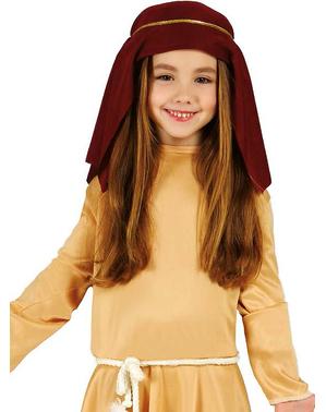 Costume da pastorella ebrea da bambina