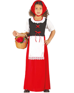 Disfraz de pastorcita para niña