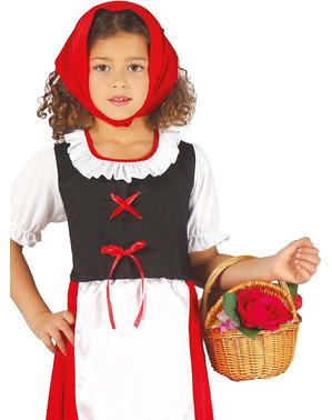 Costum de păstoriță clasică pentru fată