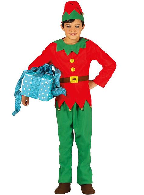 Elegante elf kostuum voor jongens