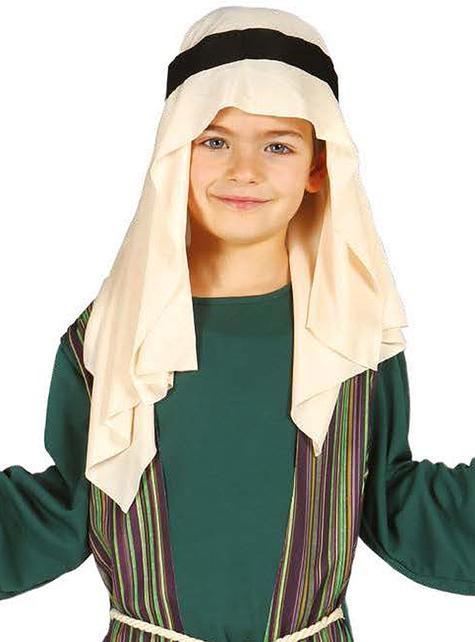 Strój Święty Józef zielony dla chłopca