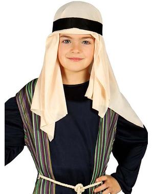 Costum Sfântul Iosif albastru pentru băiat
