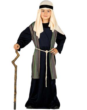 Blåt Josef kostume til drenge