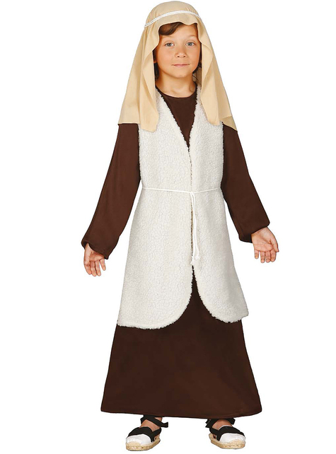 Boys Brown Hebrew Shepherd Costume