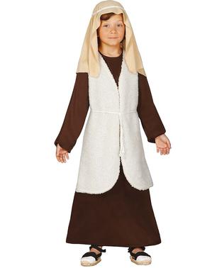 Strój hebrajski pastuszek brązowy dla dzieci