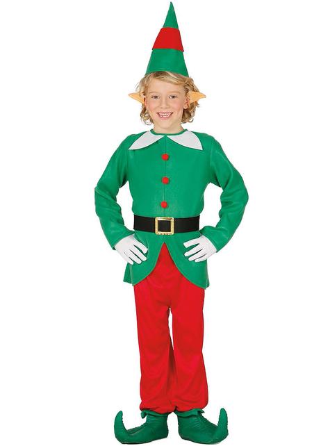 Leuke elf kostuum voor jongens