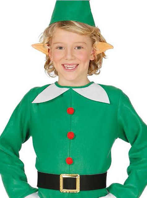 Strój zabawny elf dla chłopca
