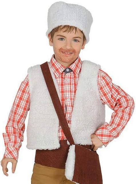 Kit fato de pastor do campo para menino