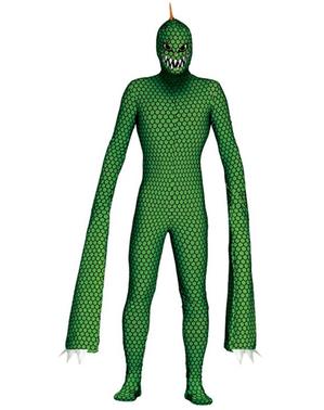 Mutant Reptil Kostyme for Menn