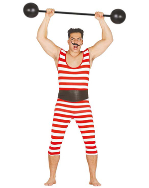 Mens strongman swimmer costume