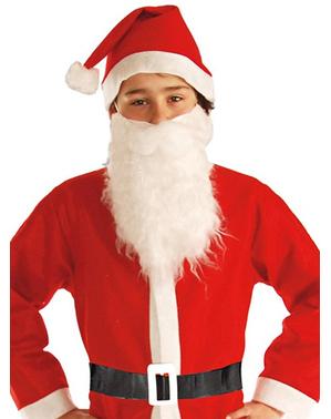 Fato de Pai Natal divertido para menino