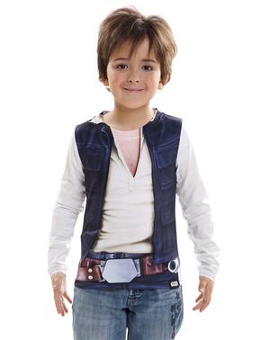 Maglietta Han Solo iperrealistica per bambino