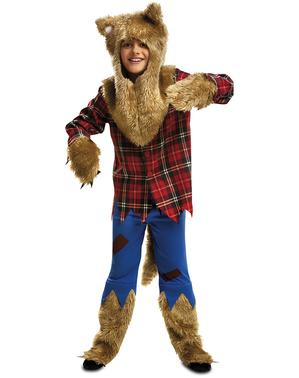 Costume da lupo mannaro feroce per bambino