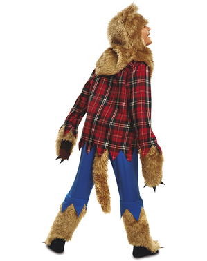 Disfraz de hombre lobo feroz para niño