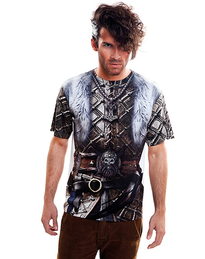 T-shirt viking furieux homme