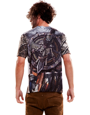 Rasende Viking T-Skjorte for Menn