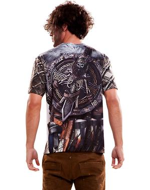 Wütender Wikinger T-Shirt für Herren