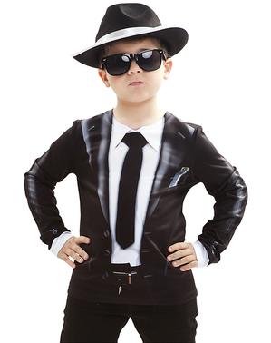 Chemise Blues Brothers enfant