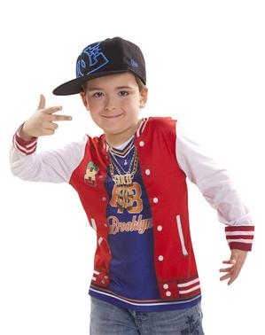 Shirt coole rapper met voor jongens