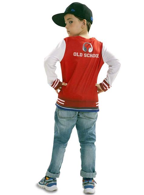 Camiseta de rapero con flow para niño