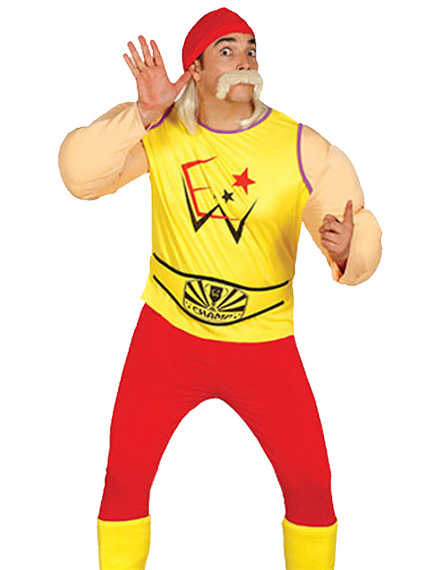 Men's Hogan Fighter Costume
