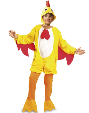 Kippenhok haan kostuum voor kinderen