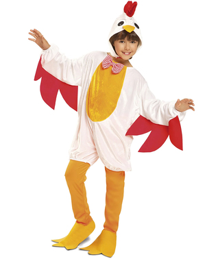 Costume da gallina coccodè per bambina