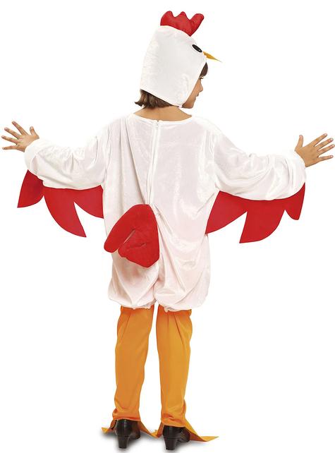 Disfraz de gallina ponedora para niña