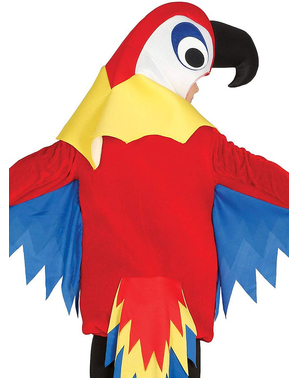 Liten Rød Papegøye Kostyme Gutt