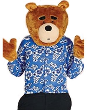 Kit accessorio per la testa e mani da orso per adulto