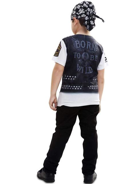 Boys Wild Biker T-shirt