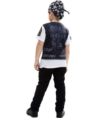 Höllen-Biker T-Shirt für Jungen