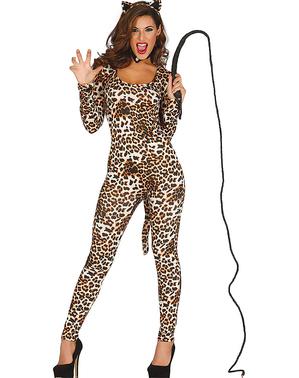 Déguisement léopard sauvage femme