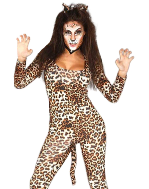 Savage leopard costume for women