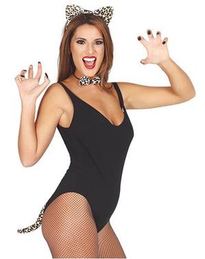Set de leopard pentru femeie