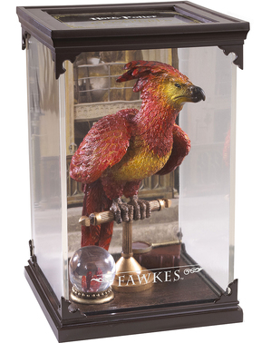 Fawkes the Phoenix figur Harry Potter 19 x 11 cm