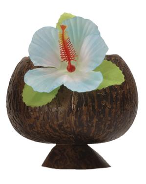 Copo de coco havaiano