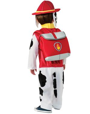 Marshall Kostyme til Gutter - Paw Patrol