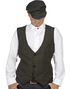Camicia da mafioso irlandese per uomo