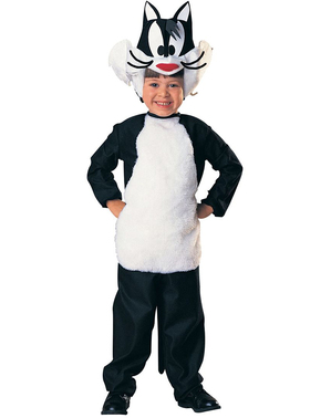 Looney Tunes Sylvester kostume til børn