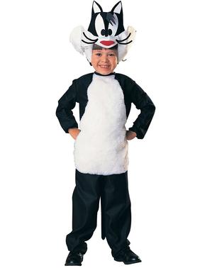 Maskeraddräkt Sylvester Looney Tunes för barn