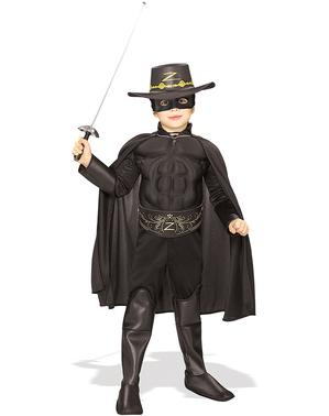 Fato de Zorro deluxe para menino