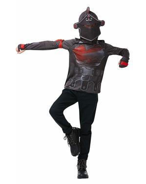 ティーンエイジャーのためのフォートナイトブラックナイトTシャツ