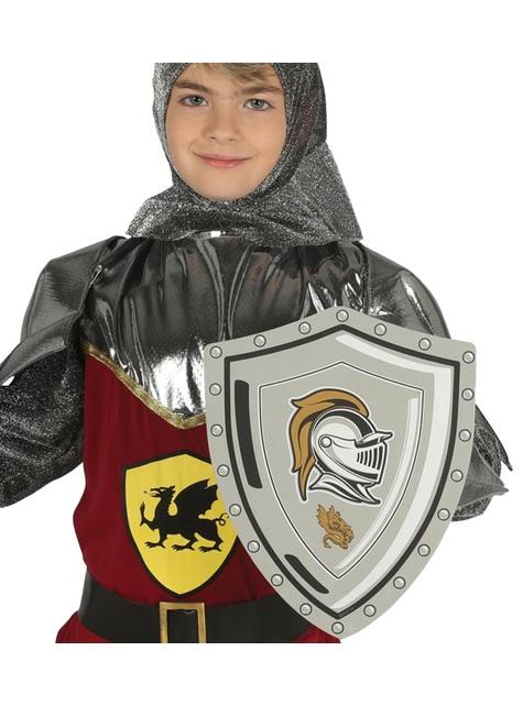Bouclier médiéval en mousse EVA enfant
